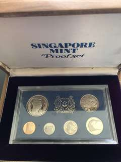 Singapore 1973 Proof Set