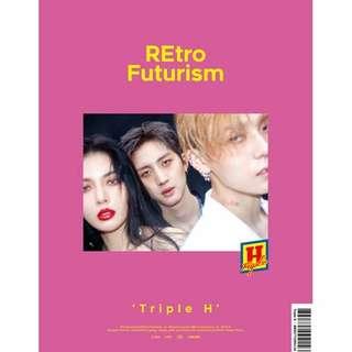 [PREORDER] Triple H - Retro Futurism (2nd Mini Album)