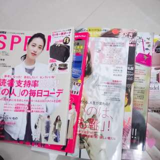 日本雜誌5本