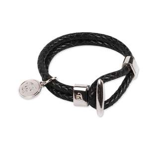 <PO> TWICE LEATHER BRACELET