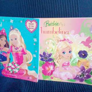 Barbie Thumbelina and Barbie The Diamond Castle
