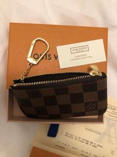 Brand New LV Key/Coin Pouch