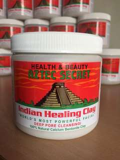 AZTEC SECRET HEALING CLAY 1 tub / 455g