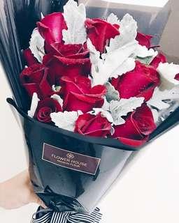 12s premium Rose only bouquet