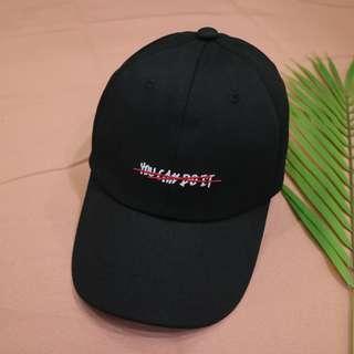 簡約英文中性老帽
