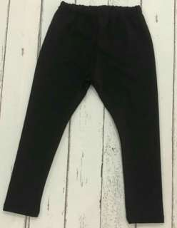 Kids leggings plain black