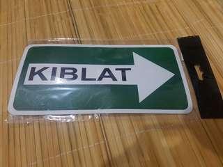 🚚 Kiblat Signage