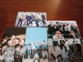 BTS 防彈少年團卡片貼