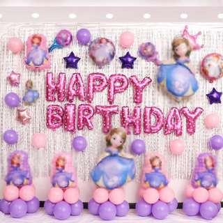 🚚 Preorder ~~~ Princess Party Decoration Set