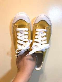 🚚 全新帆布鞋 黃色  女 38號 24cm