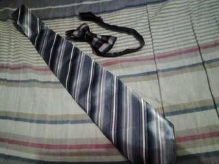 Bowtie and necktie
