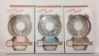 Damo Bear Thin Fan *New Design*
