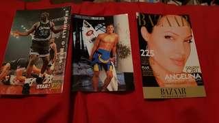 Various Celebrity Postcards