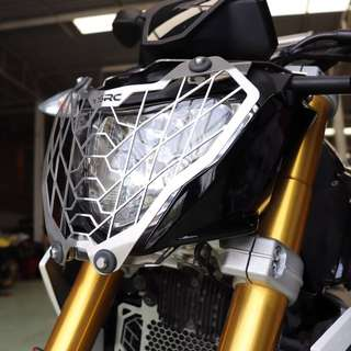 SRC BMW G310 R Headlight Grill (Available in Black or Silver)