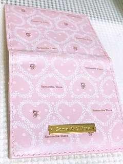 🚚 Samantha Tiara 粉色票卡夾 cards wallet