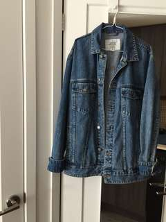Oversized Cheap Monday Denim Jacket