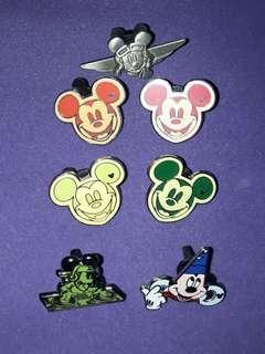 Disney Pin 迪士尼襟章 Pin Pins 襟章  Mickey Mouse 米奇老鼠 米奇