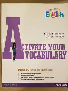 Activate Your Vocabulary (Lower Secondary)