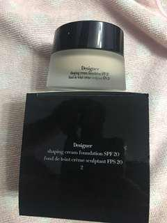 Armani Designer Shaping Cream Foundation 設計師粉底霜 SPF20
