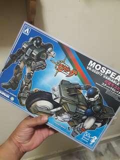 Aoshima mospeada vr-052 ridearmour model kit
