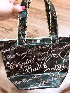 🚚 狗頭包防潑水小提袋 24*28 handy bag