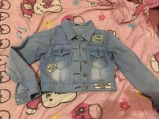 🔥Turun harga 🔥Jaket jeans crop kekinian