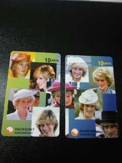 Princess Diana Phone Card