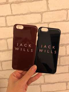 50元1對♥️正版Jack Wills iPhone 6 Case💕
