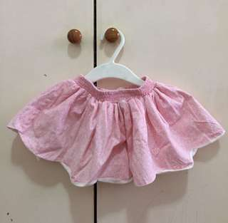 Toddler pink skirt