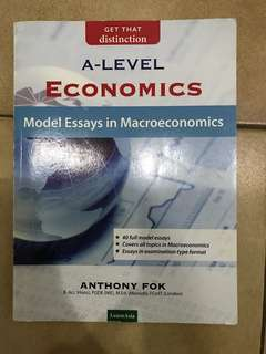 A level economics model essays