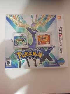 Pokemon X & Pokemon Sun