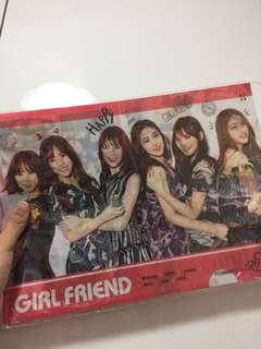 Gfriend File 100%new未開封 made in Korea