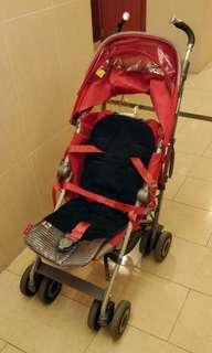 Maclaren Techno XT stroller with accessories