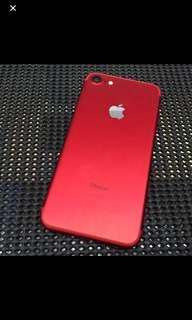 🚚 賣Iphone7.128G.紅色.95新