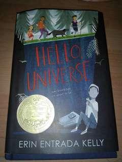 """""""Hello, Universe."""" By: Erin Entrada Kelly"""