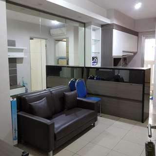 Disewakan Apartemen Greenbay 2 Kamar Furnish Uk 42m View Kolam Renang