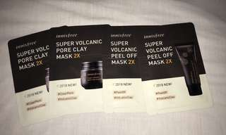 Volcanic Clay Mask/Peel-off Clay Mask 2X