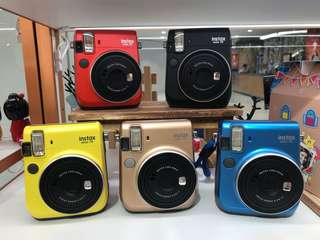 Instax Mini 70 (Limited Colours available too!)