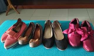 Aneka sepatu preloved