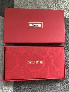 🚚 Miu Miu Red Packets Ang Bao