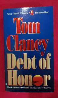 Tom Clancy each