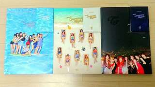 WTS Twice Summer Nights Album