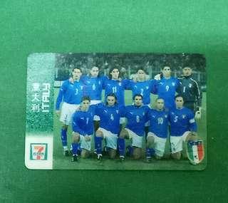 意大利 7-11紀念卡
