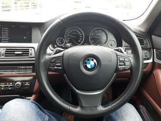 F10 paddle shift steering original 2011