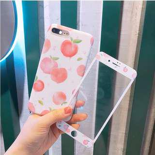 I phone case & protector glass