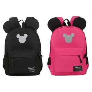 Kindergarden Mickey Boys Girls Kids School Bag