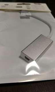 USB C to Mini display port adapter