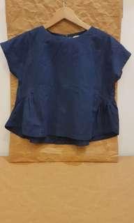 Navy Blue Beatrice Top