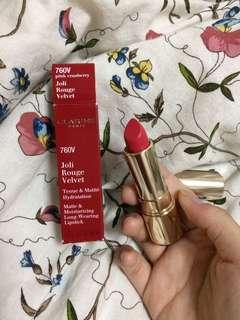 CLARINS Joli Rouge Velvet (Pink Cranberry)