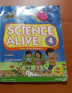 Studentbook Science Alive! 4